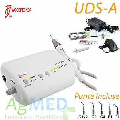 ABLATORE AD ULTRASUONI WOODPECKER UDS-A ultrasonic scaler EMS COMPATIBILE