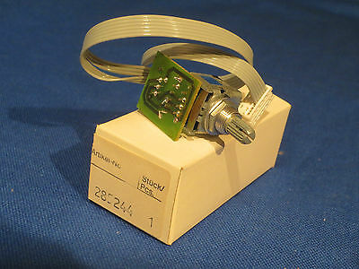 Nos Dual Golden 1 One Turntable Speed Control Switch 285244 Excellent Condition