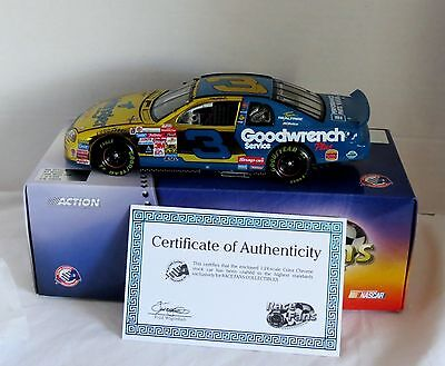 Dale Earnhardt # 3 Wrangler 1999 Monte Carlo Ss- New In The Box- Free Shipping