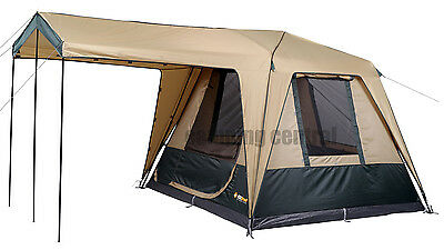 Oztrail Fast Frame Cruiser 240 Swift Pitch (4 Person) Man Instant Up Tent