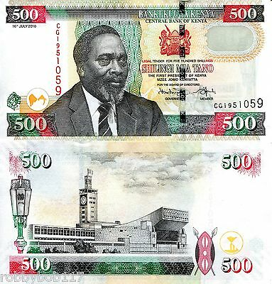 KENYA 500 Shillings Banknote World Money Currency p50f BILL Note Africa Kenyatta