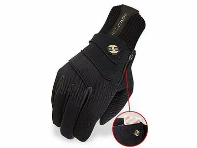 Heritage Extreme Winter Riding Gloves - Waterproof - Black - All Sizes