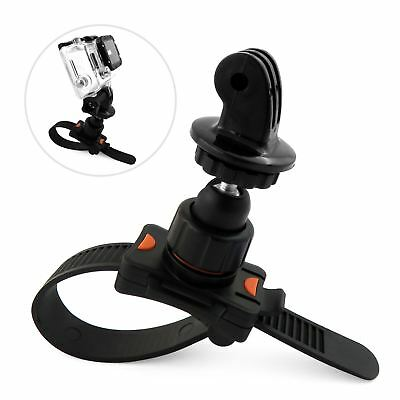 Roll Bar Zip Mount For GoPro Hero 2 3 3+ 4 5 6 Fits Cage Handlebar Seatpost Bike