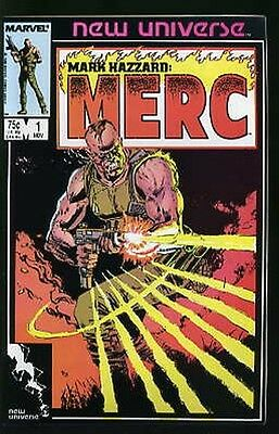 Mark Hazzard Merc #1-12 Vf/nm Complete Set 1986 Marvel Comics
