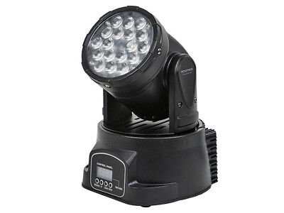 Monoprice 3-Color LED Moving Head Stage Light