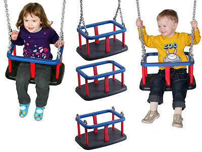 Baby Commercial Heavy duty rubber swing seat Playground galvanised chain FREE PP