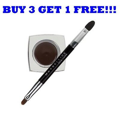Maybelline Eye Liner Gel Durable Drama Brun