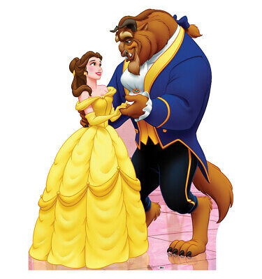 Belle and Beast Beauty and the Beast Life Size Cardboard Cutout Standup