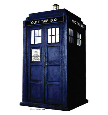 The Tardis Doctor Who Life Size Cardboard Cutout Standup