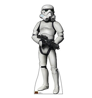 Stormtrooper Star Wars Rebels Life Size Cardboard Cutout Standup