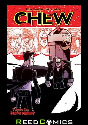 CHEW VOLUME 10 BLOOD PUDDIN GRAPHIC NOVEL New Paperback Collects Issues #46-50
