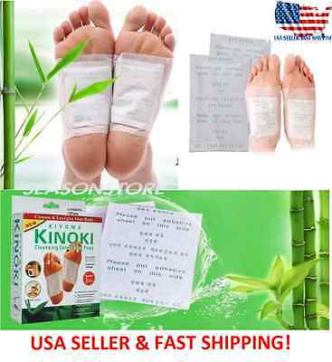 Kinoki Herbal Detox Foot Pads  Detoxification Cleansing Patches