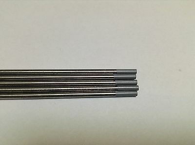 "5 PCS of 1/16""* 7"",Gray WC20,2% Ceriated Tungsten Welding & TIG Electrodes ."