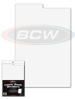 Comic Book Dividers for Storage & Filing with Index Divider x 25 pack
