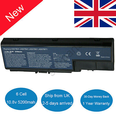 Battery For Acer Aspire AS07B31 AS07B41 5300 5310 5315 5535 5720 5735 5920 6930
