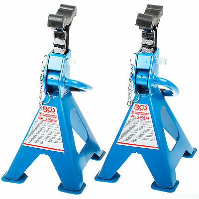 Support trestles 2 Pcs to 2t 266 - 415 mm Safety Stand Car