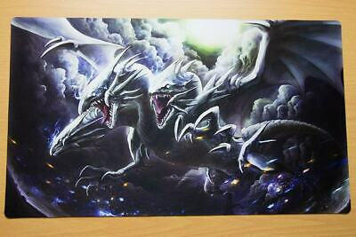 E33 FREE MAT BAG Blue Eyes Ultimate Dragon Custom Playmat Yugioh TCG Play Mat