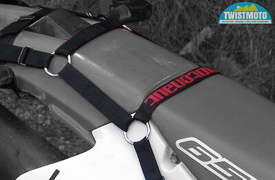 Motonaut Soft Strap Luggage Rack and tie down only Kit KTM EXC WR CRF XT KLX