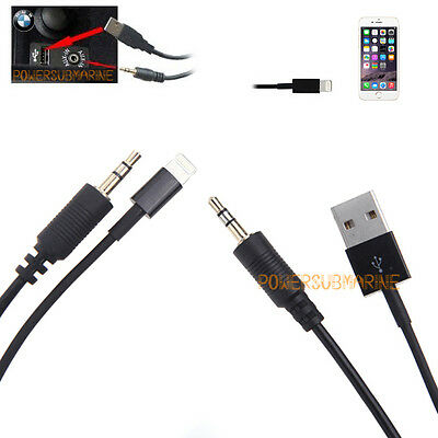 Y Lightning Cable Lead For Bmw / Mini - Iphone 6 & Iphone 6 Plus