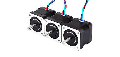 DE Ship 3PCS 59Ncm Nema 17 Stepper Motor 2A 1m Cable DIY 3D Printer CNC Robot