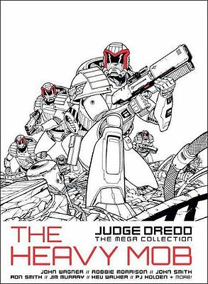 JUDGE DREDD THE MEGA COLLECTION THE HEAVY MOB #JD/4 - Free p&p