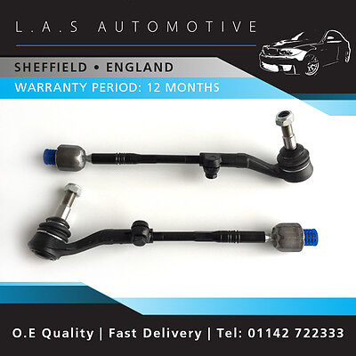 Pair of New BMW E81 E82 E87 E88 1 Series Steering Track Tie Rod Ends Left &Right