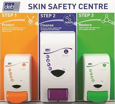 3 Step Skin Protection Centre - Small - 4 Litre Deb SSCSM42EN Top Quality New