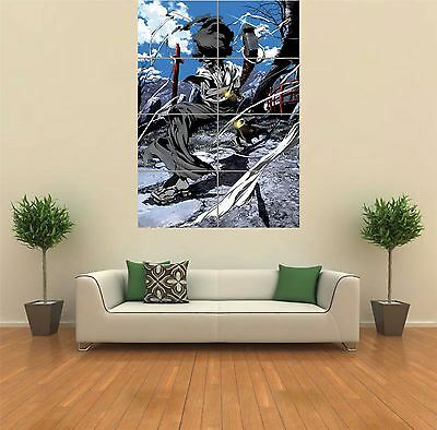 AFRO SAMURAI ANIME Manga New Giant Poster Wall Art Print Picture ...