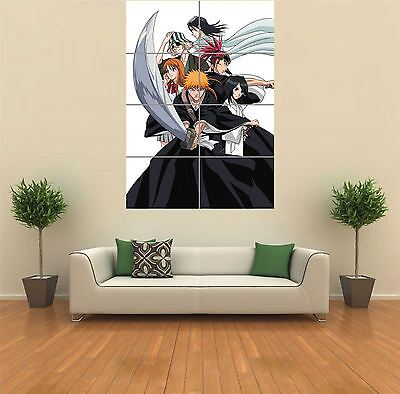Bleach Anime Manga  New Giant Poster Wall Art Print Picture G1106