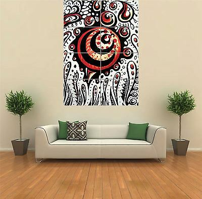 MAGIC MUSHROOMS TRIPPY New Giant Poster Wall Art Print Picture G158 ...