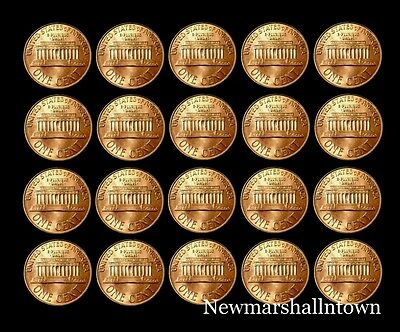 1990 1991 1992 1993 1994 1995 1996 1997 1998 1999 P+D Lincoln Mint Set Roll