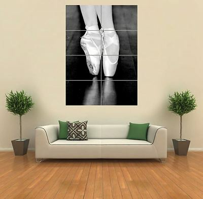 Ballet Shoes New Giant Poster Wall Art Print Picture G760