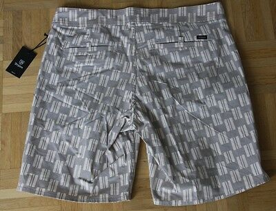 "Brixton Surf Short ""Frank Trunk"", grey, Gr. 32"