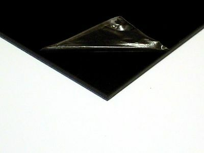 1 x A5 Black ABS Plastic Sheets [148mmx210mmx1.5mm] VAT Invoice Supplied