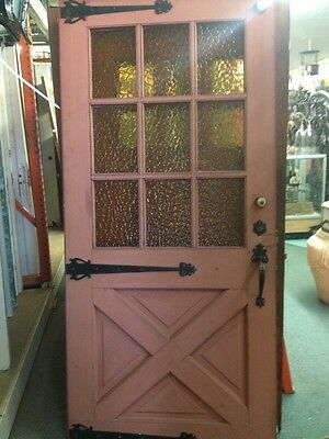 1940 Spanish Ranch Style Front Door With Hardware Old Farmhouse Style 42x79""