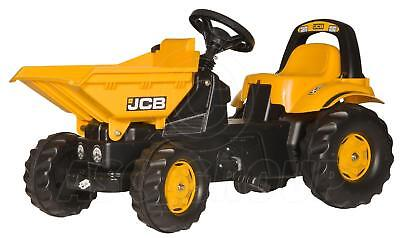 Rolly Toys -  JCB Ride on Pedal Dumper Truck with Tipping Bucket - Age 2 1/2 - 5