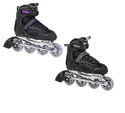 SFR RX-XT Adults Inline Skates Womens & Mens Roller Skates Sizes 4-12 NEW