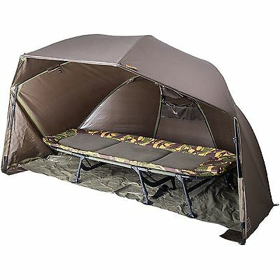 """Wychwood HD MHR 50"""" Compact Brolly With Groundsheet NEW Fishing Shelter - Q0456"""
