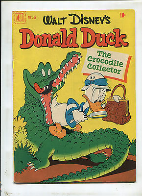 Dell Four Color #348 Donald Duck (5.0) Barks 1951