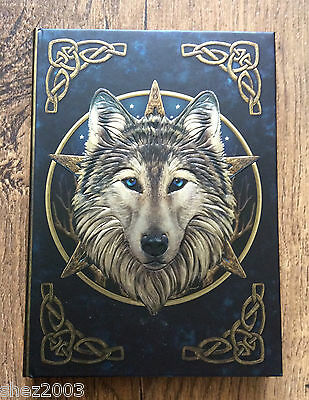 Wild One ~ Wolf ~  Journal or  Book of Shadows by Lisa Parker ~ Wicca ~ Pagan