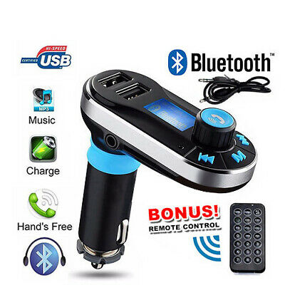 Bluetooth Car Kit FM Transmitter MP3 Player SD USB Charger For iPhone Samsung S6