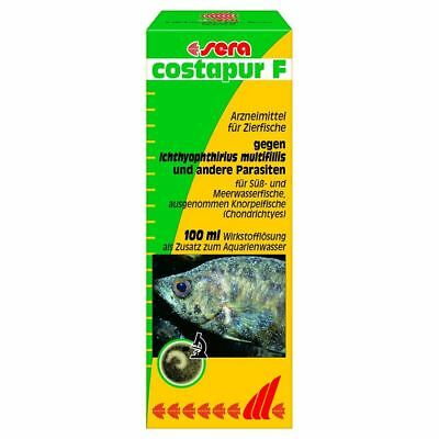 Sera Costapur F (1000l-2000l) White Spot Aquarium Water Treatment 100ml