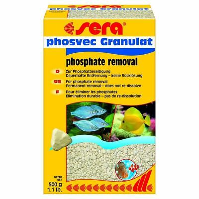 Sera Phosvec Granulat 500g Fish Tank Aquarium Filter Media