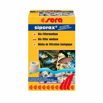 Sera Siporax Bio Filter Media for Aquariums 290g Fish Tank Filter Media