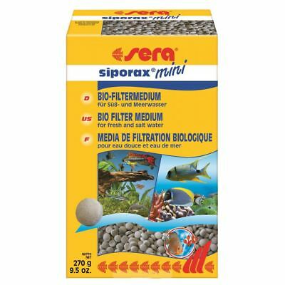 Sera Siporax Mini Professional 270g Freshwater and Marine Filter Media