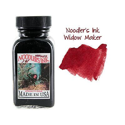Noodler's Ink Fountain Pen Bottled Ink, 3oz - Widow Maker