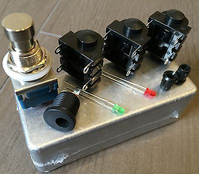 Kit A/b Switch Box (2 In, 1 Out) Chitarra, Guitar Pedale Clone Diy