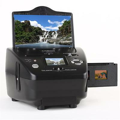 "New Digital Slide Film Negative Photo Combo Scanner Sd Xd Ms Ms-Pro 2.4"" Display"