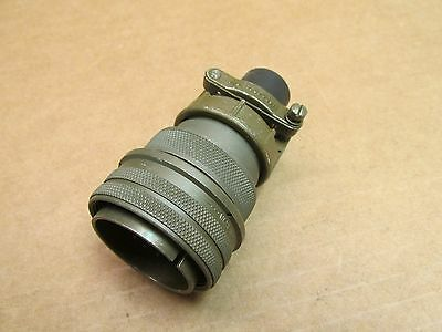New Amphenol Ms3106A28-12P Complete Assemply 26 Pin Plug Male Connector 28-12P