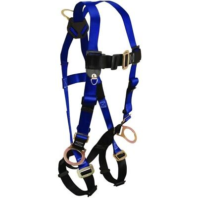Falltech 3 D-Ring Contractor Fall Protection Body Harness Universal Fits Most